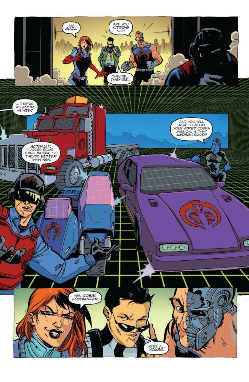 Transformers News: GI Joe First Strike Full Preview