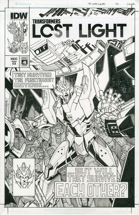 Transformers News: Alex Milne Announced as Upcoming Artist on IDW Transformers Lost Light Series