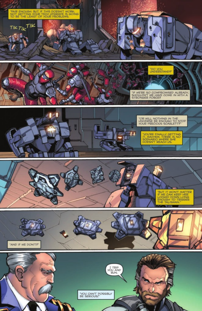 Transformers News: Full Preview of IDW Hasbro First Strike #4 #HasbroFirstStrike
