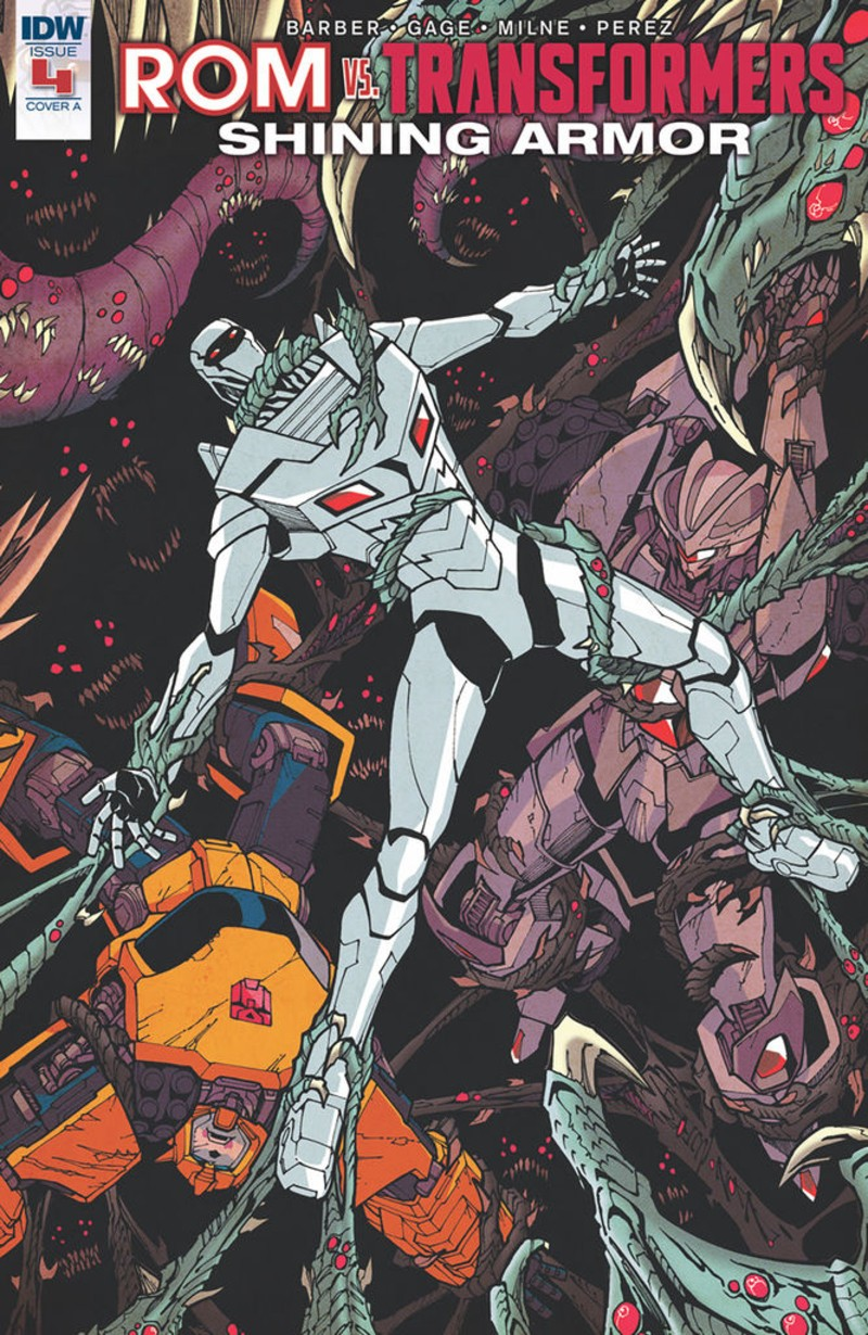 Transformers News: iTunes Preview for IDW Rom Vs. Transformers: Shining Armor #4
