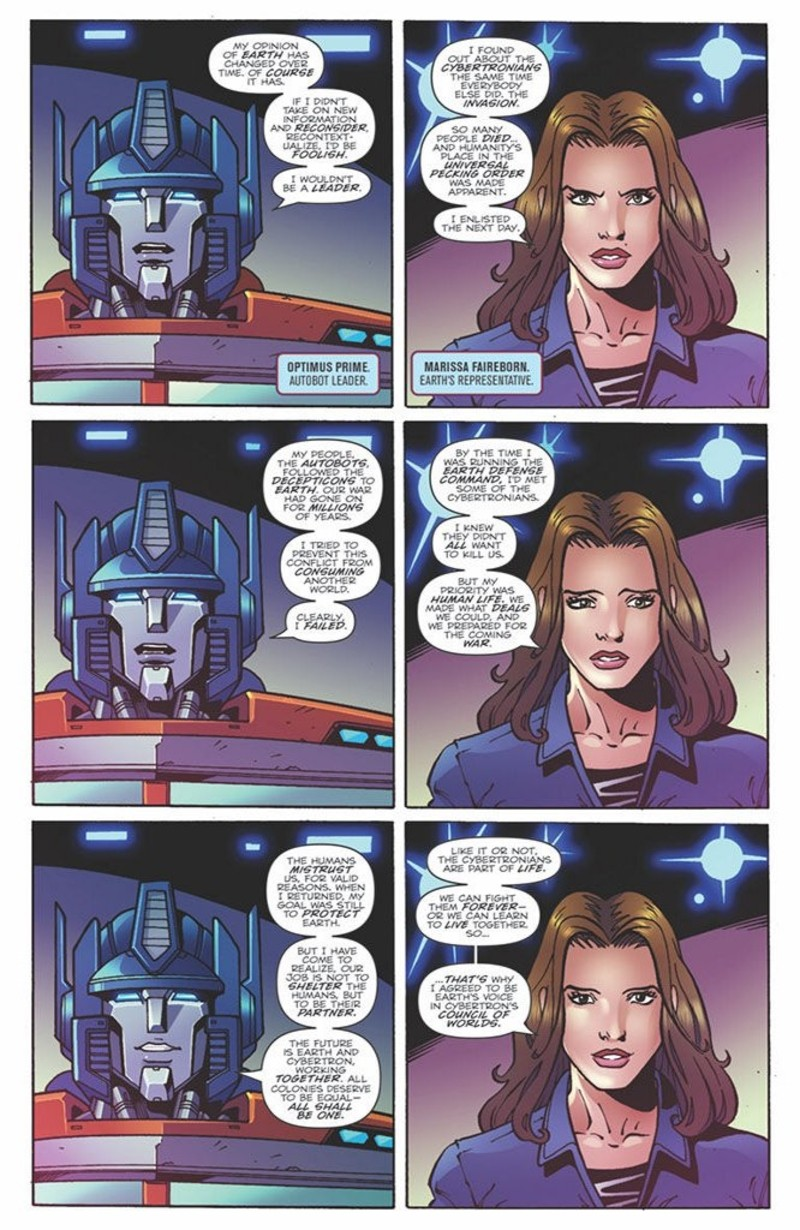 Transformers News: iTunes Preview for IDW First Strike: Optimus Prime #1 Tie-In