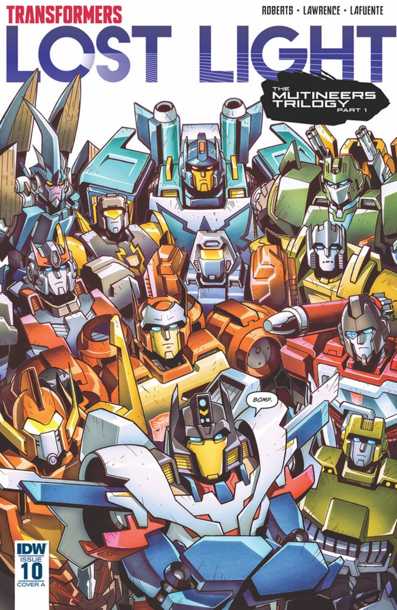 Transformers News: iTunes Preview for IDW Transformers: Lost Light #10
