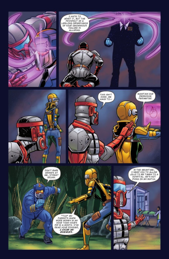 Transformers News: IDW Hasbro Universe - Full Preview for GI Joe #9 and MASK #10 #TCJHU