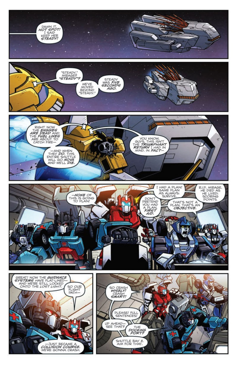 Transformers News: Full Preview for IDW Transformers: Lost Light #10