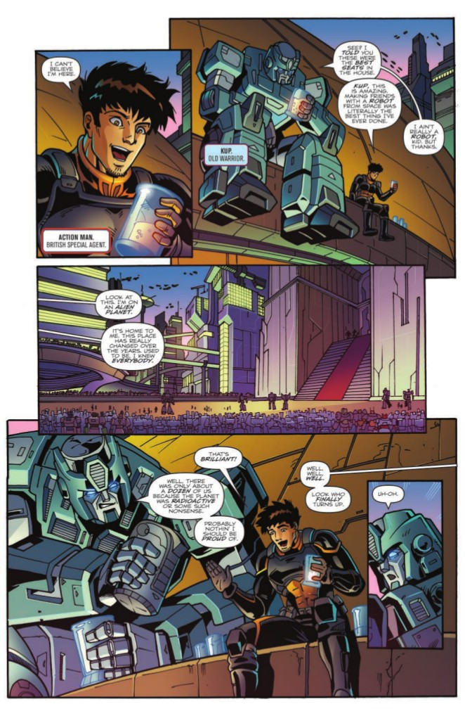 Transformers News: Full Preview of IDW Optimus Prime: First Strike #1 (One-Shot)
