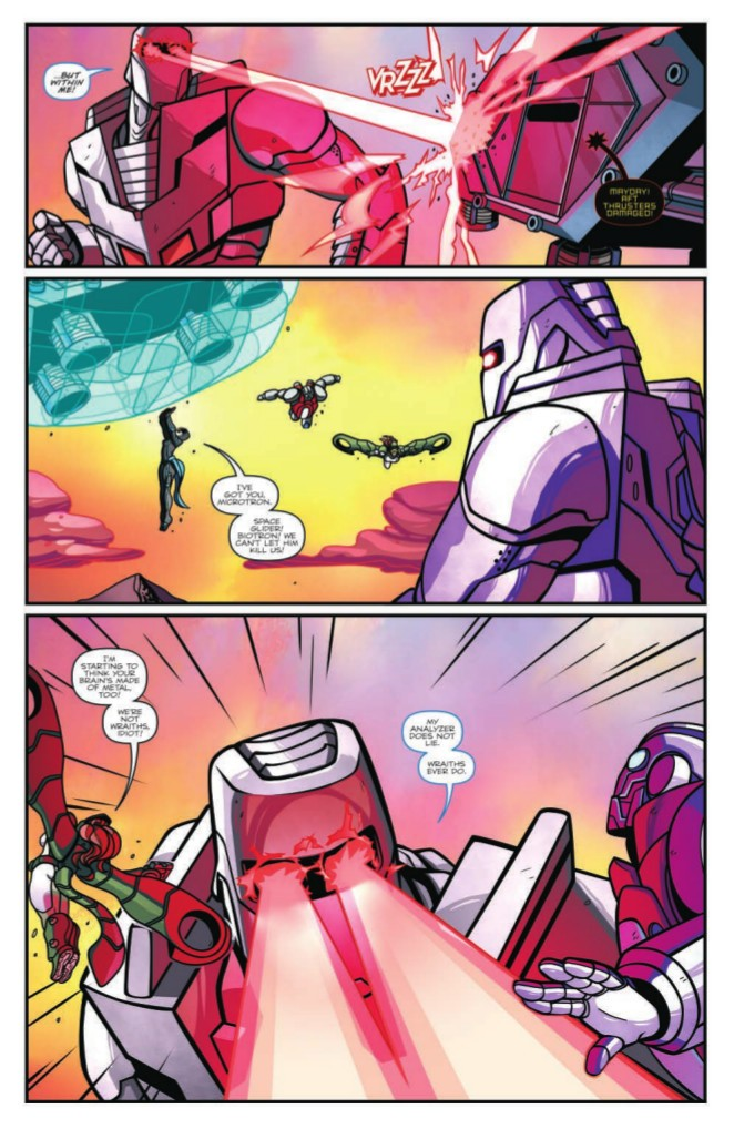 Transformers News: Full Preview of IDW Rom: First Strike #1 (One-Shot)