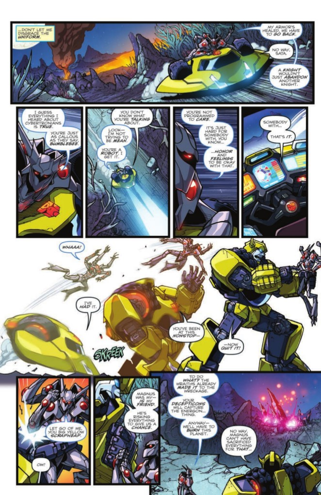 Transformers News: Full Preview of IDW Rom Vs. Transformers: Shining Armor #4