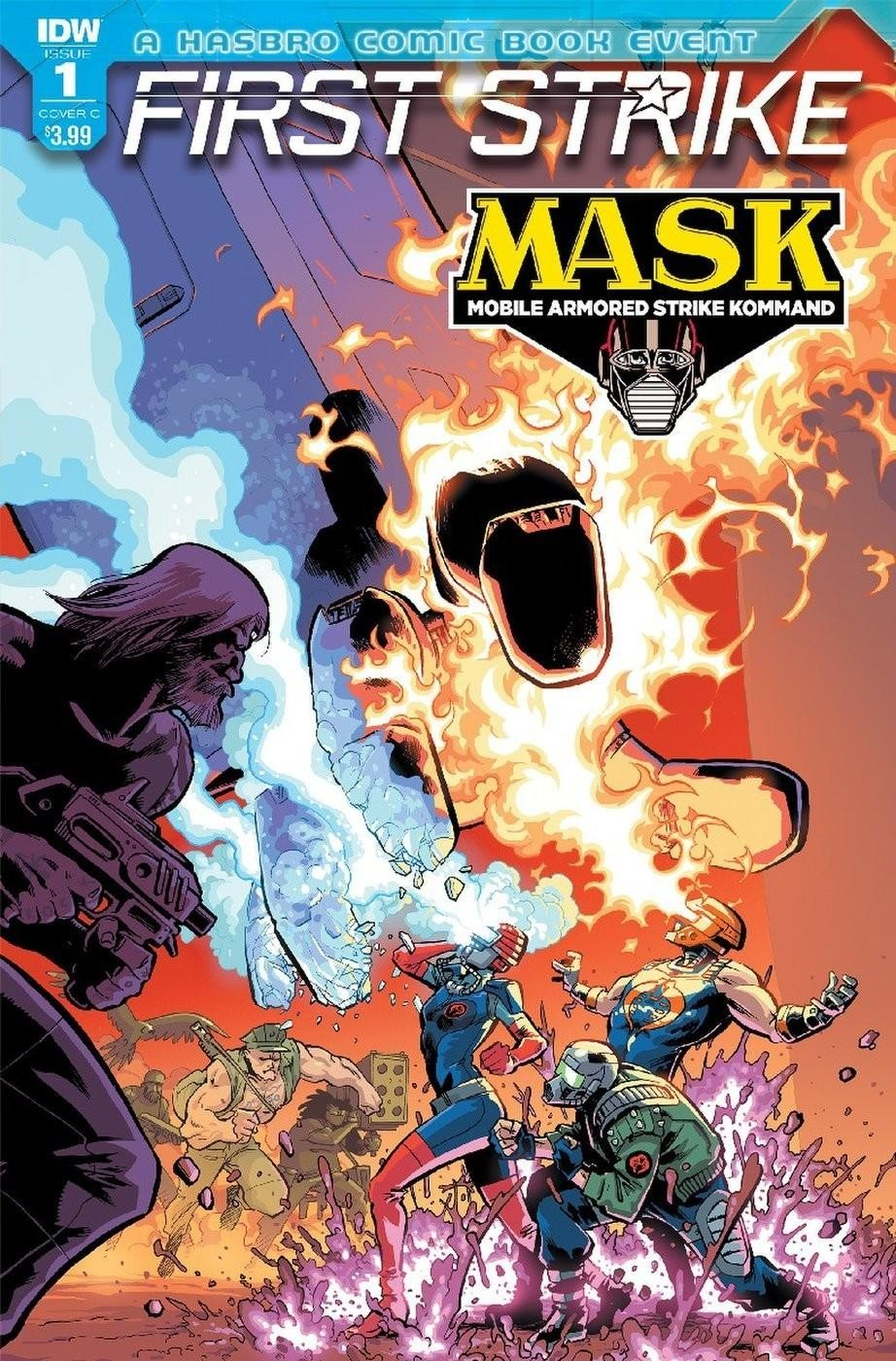 Transformers News: iTunes Preview for IDW M.A.S.K.: First Strike #1 (One-Shot)