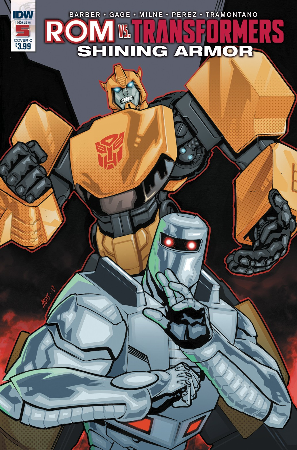 Transformers News: Variant Covers for IDW Rom Vs. Transformers: Shining Armor #5, by Roche/Burcham & Messina