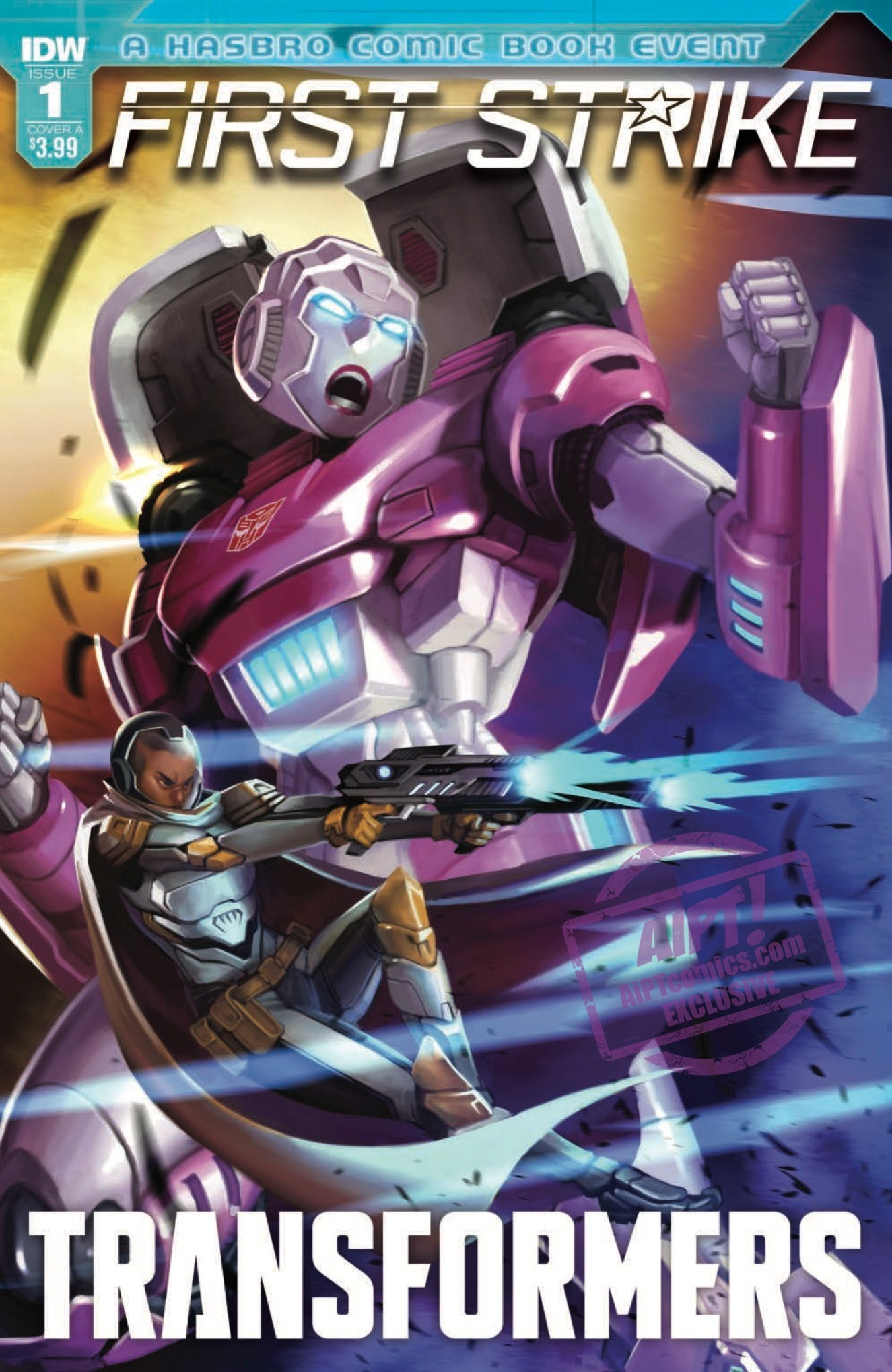 Transformers News: Full Preview for IDW Transformers: First Strike #1 #HasbroFirstStrike