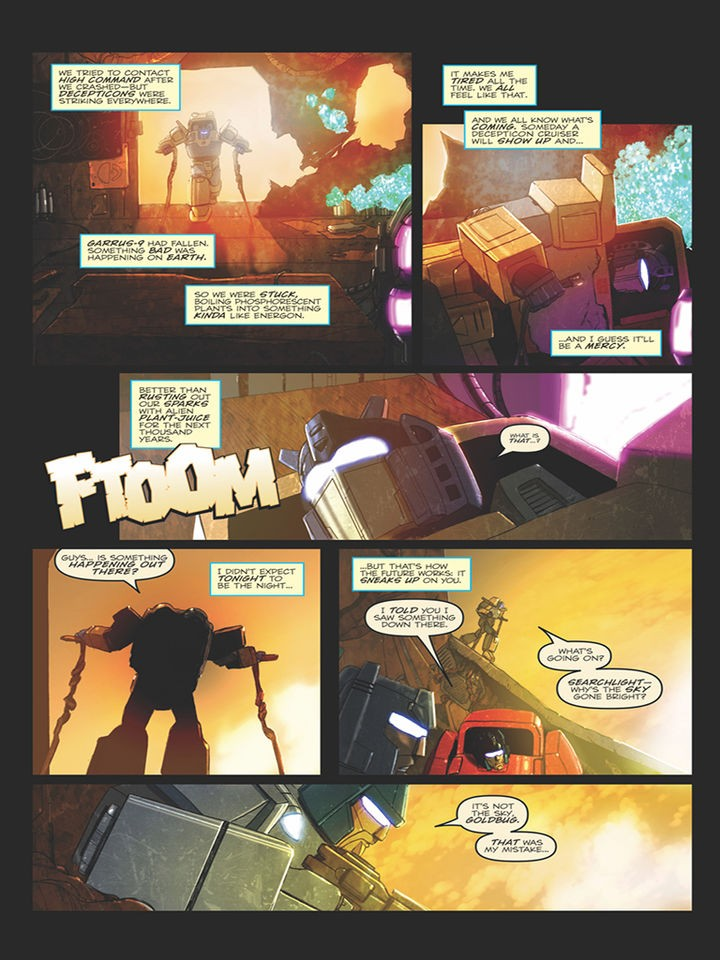 Transformers News: IDW Optimus Prime #13 Preview Is Up!