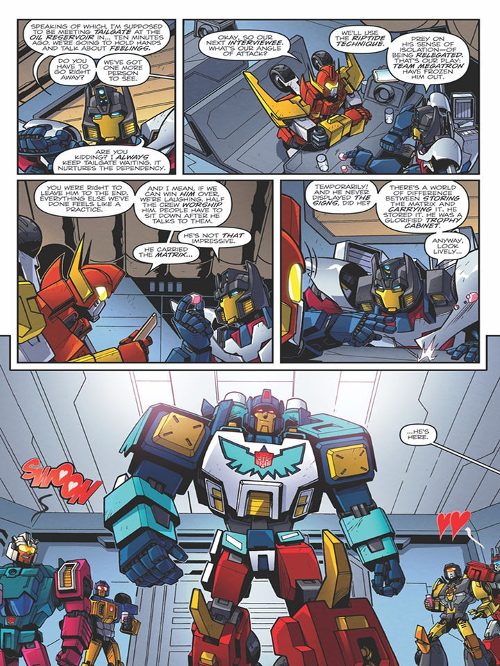 Transformers News: Sneak Peek - IDW Transformers: Lost Light #11