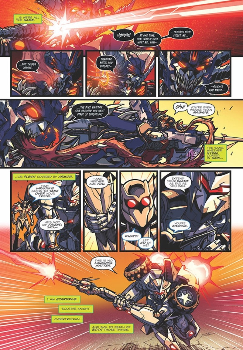 Transformers News: iTunes Preview for IDW Rom Vs. Transformers: Shining Armor #5