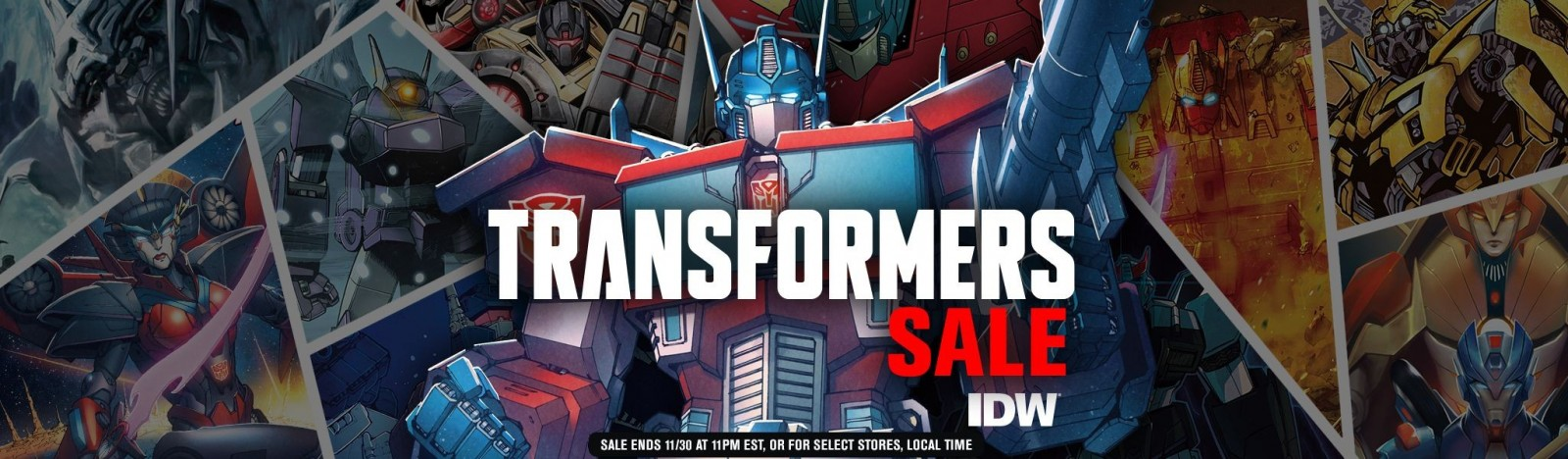 Transformers News: Comixology IDW Transformers Mega Sale