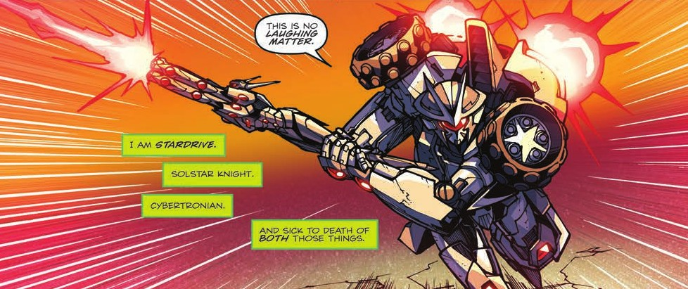Transformers News: Review of IDW Rom Vs. Transformers: Shining Armor #5 [Final Issue]