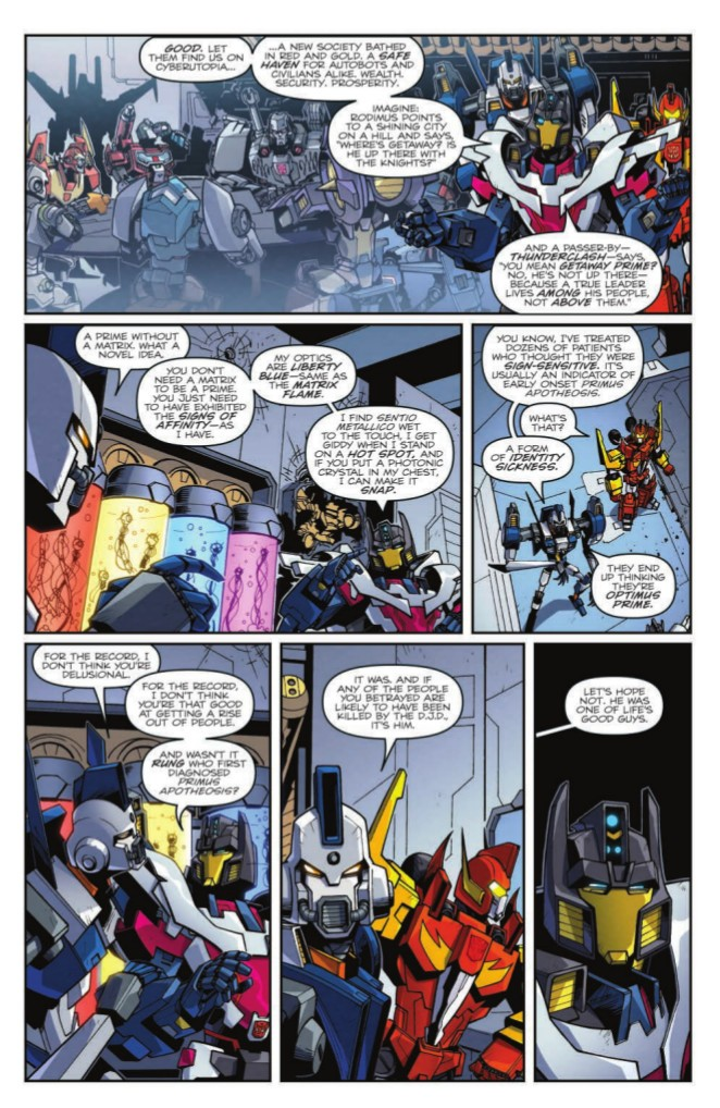 Transformers News: Full Prewiew for IDW Transformers: Lost Light #12