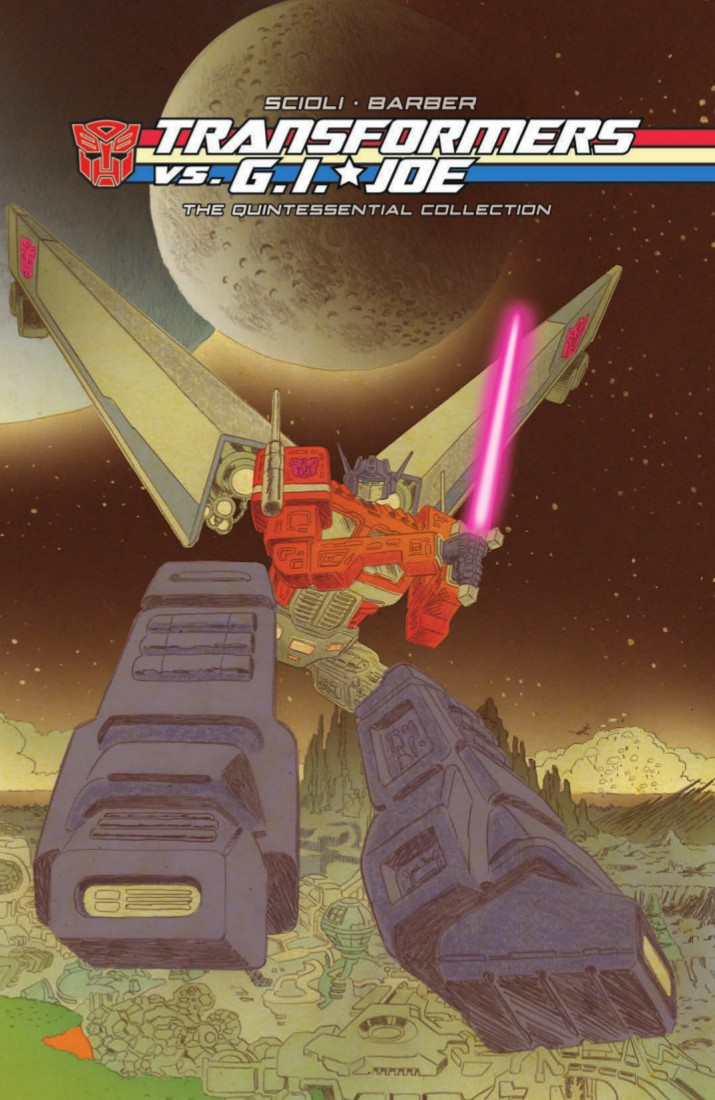 Transformers News: Full Preview for IDW Transformers vs. G.I. Joe: The Quintessential Collection