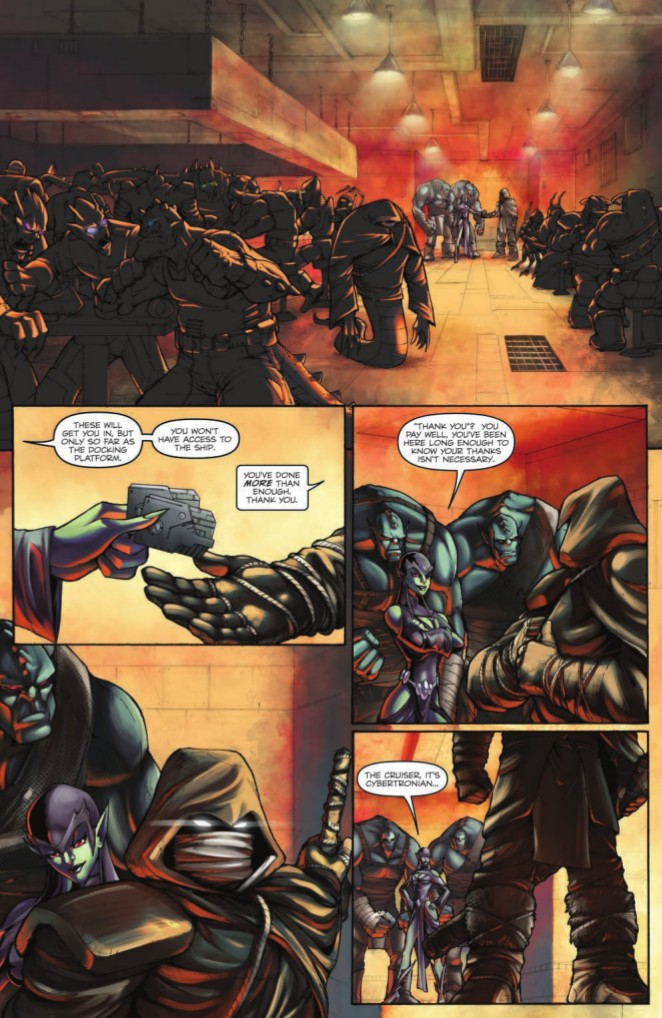 Transformers News: Full Preview for IDW Transformers Drift: Origins & Empires