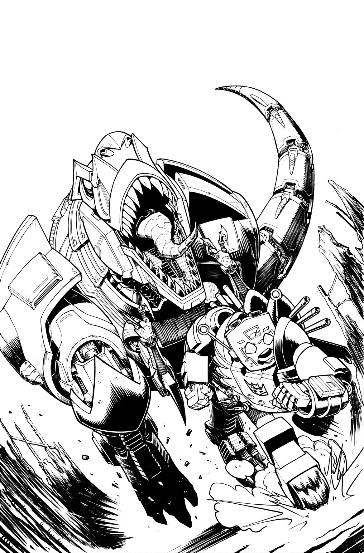 Transformers News: Variant Cover for IDW Transformers: Lost Light #14 by Roche / Burcham