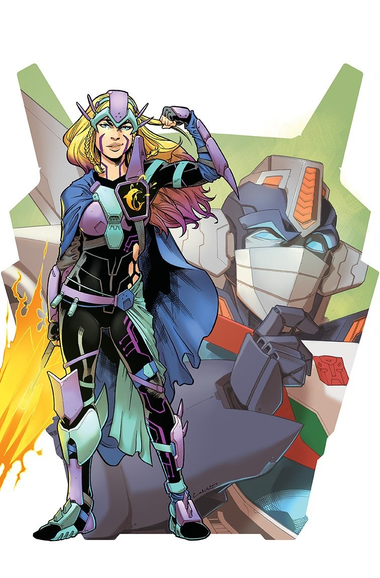 Transformers News: Interview with Magdalene Visaggio, Writer of IDW Transformers vs Visionaries