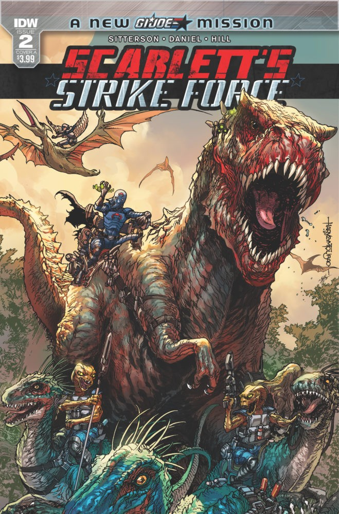 Transformers News: Three-Page Preview for IDW Hasbro Universe: Scarlett's Strike Force #2