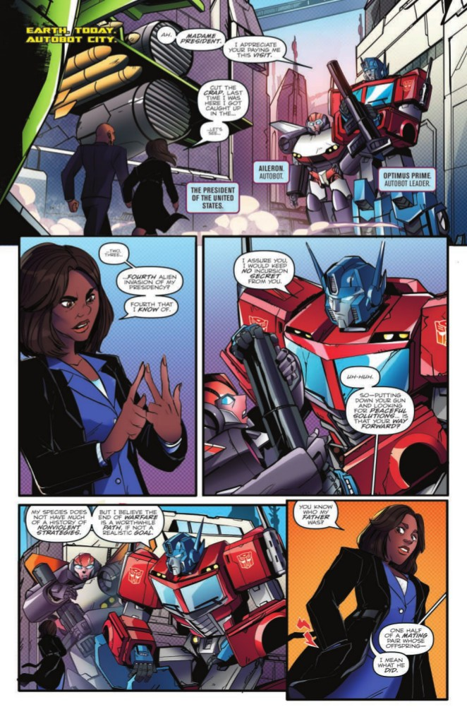 Transformers News: Preview for IDW Transformers: Optimus Prime Volume 2 TPB