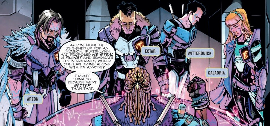 Transformers News: Review of IDW Transformers vs Visionaries #2