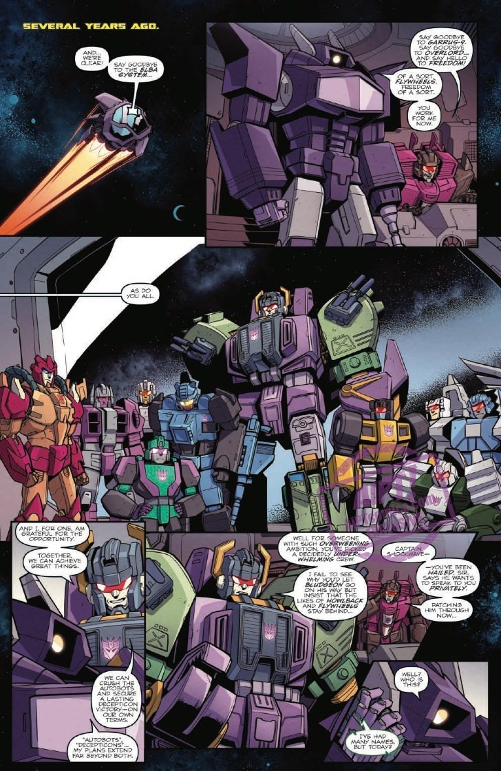 Transformers News: Full Preview for IDW Transformers: Lost Light #14