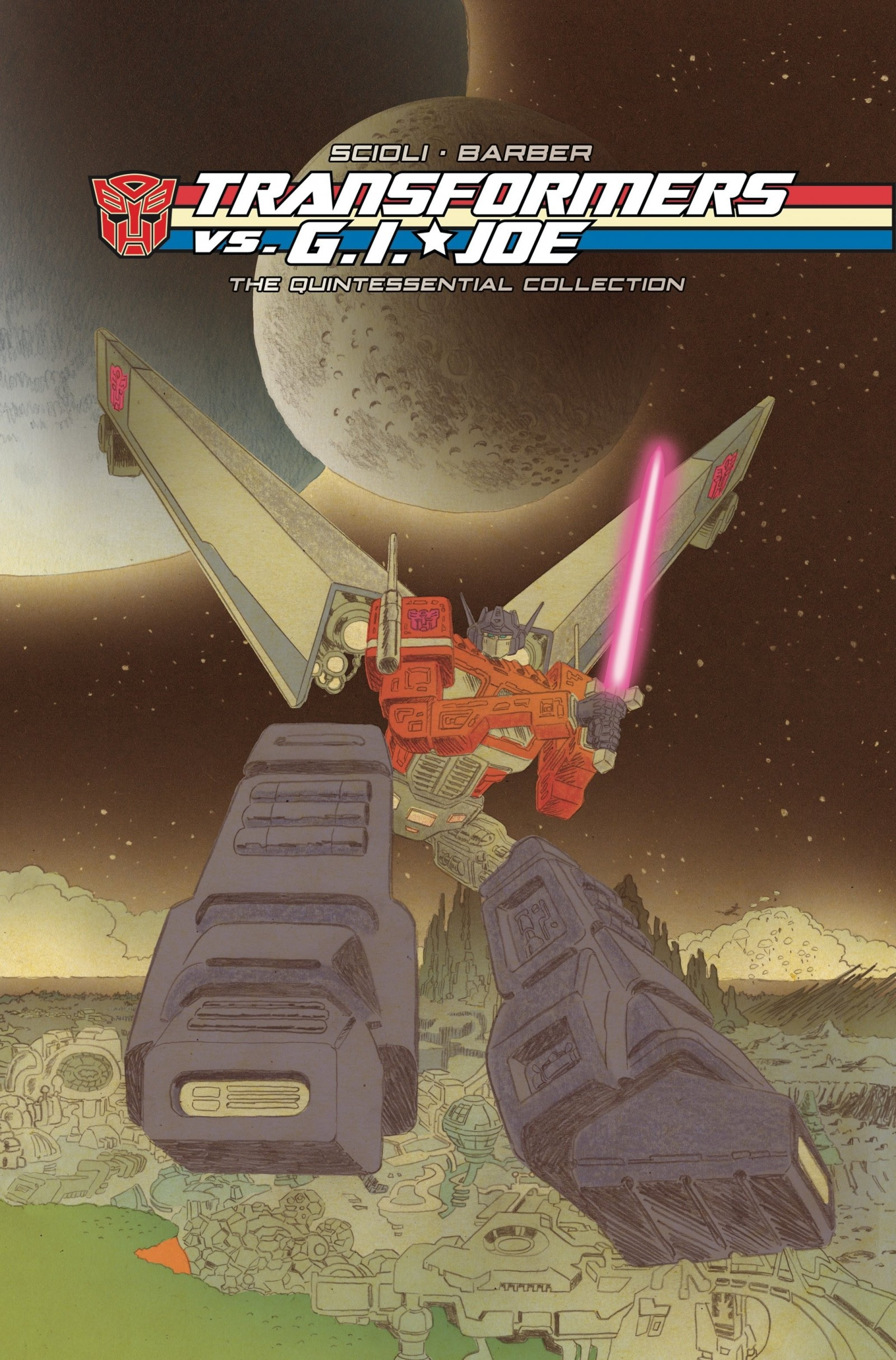 Transformers News: IDW Transformers vs. G.I. Joe Gets Complete Quintessential Reissue