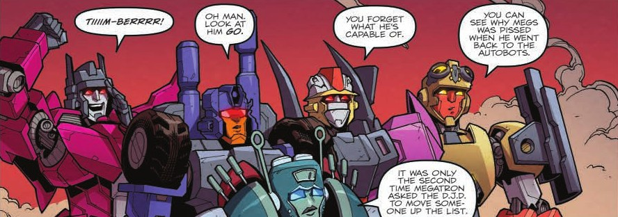 Transformers News: Review of IDW Transformers: Lost Light #14