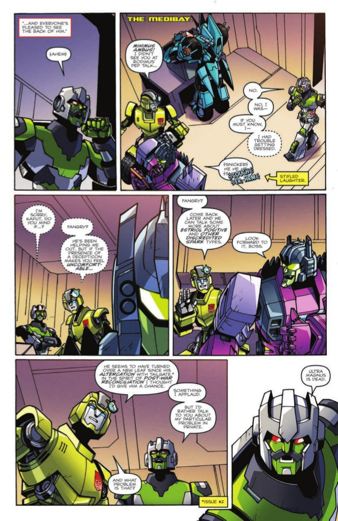 Transformers News: Full Preview for IDW Transformers: Lost Light Volume 2 TPB