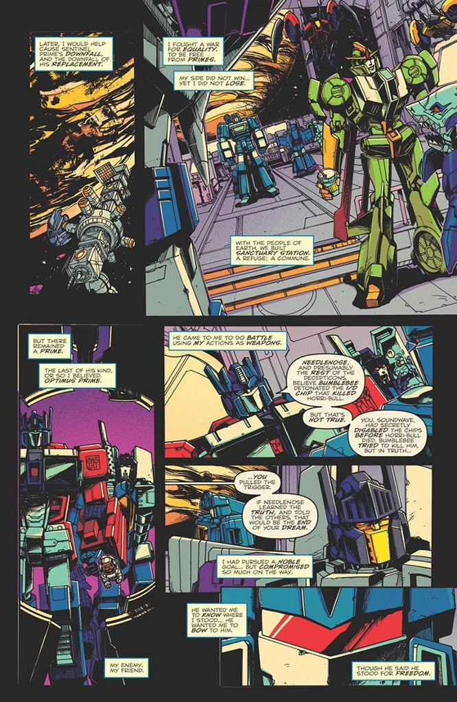 Transformers News: iTunes Preview for IDW Transformers Optimus Prime #16