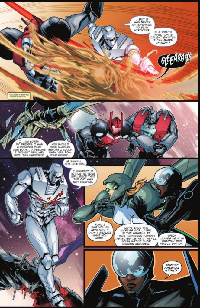 Transformers News: Full Preview for IDW Hasbro Universe Rom & the Micronauts #3