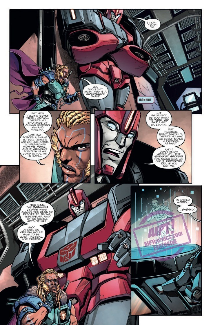 Transformers News: Full Preview for IDW Transformers vs Visionaries #3