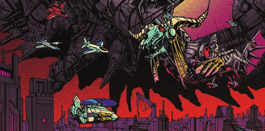 Transformers News: Review of IDW Transformers Optimus Prime #16