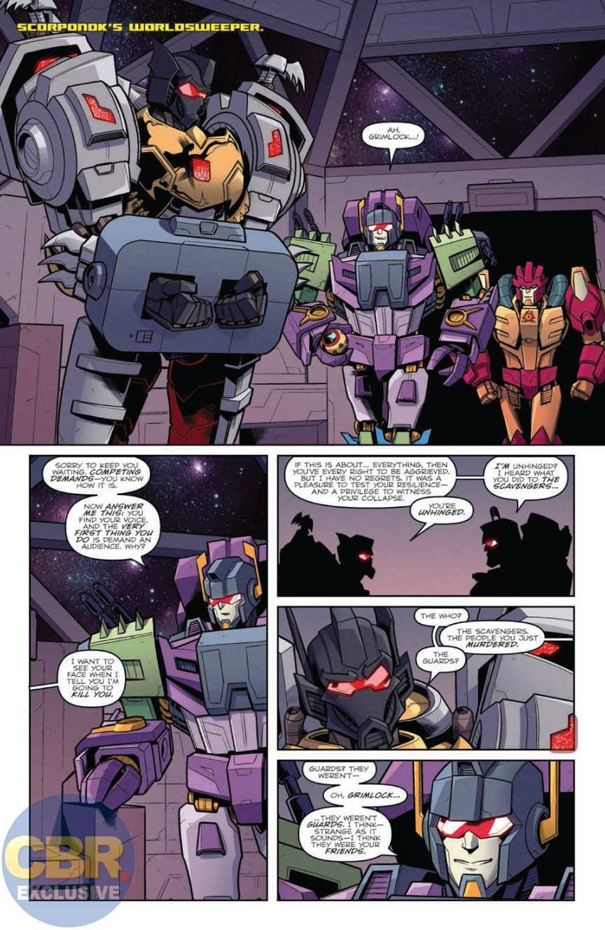 Transformers News: Full Preview for IDW Transformers: Lost Light #15