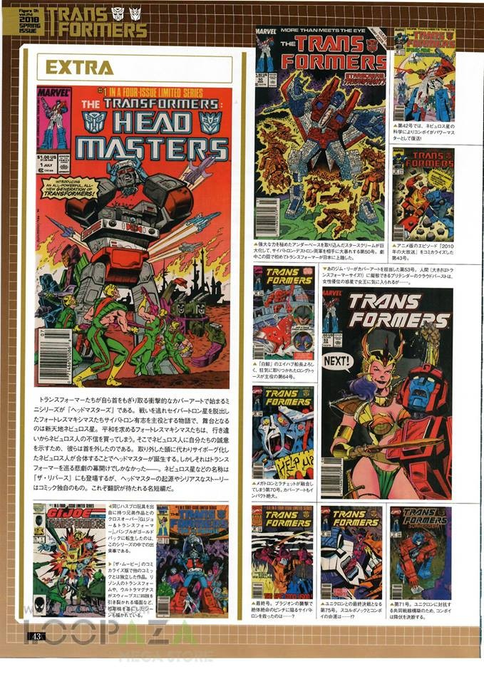Transformers News: More Info on Hero-X Japanese Release of Classic Marvel Transformers Comics