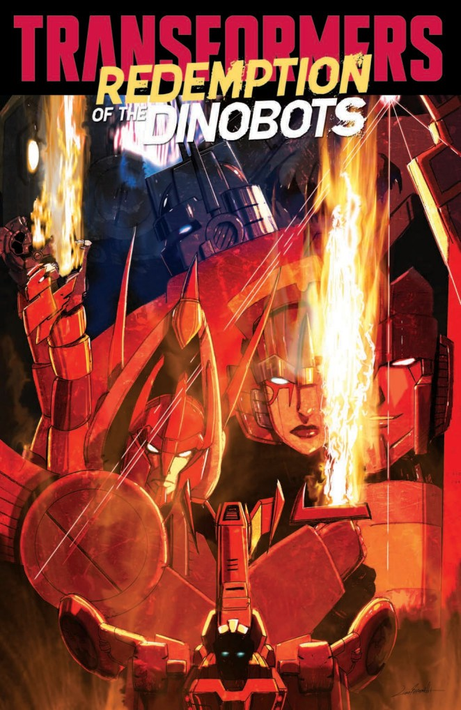Transformers News: Full Preview for IDW Transformers: Redemption of the Dinobots TPB