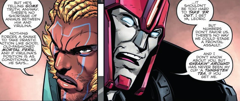 Transformers News: Mini-Review of IDW Transformers vs Visionaries #3