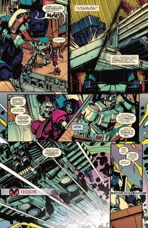 Transformers News: Full Preview for IDW Transformers Optimus Prime #17