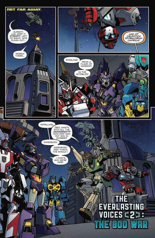 Transformers News: Full Preview for IDW Transformers: Lost Light #17