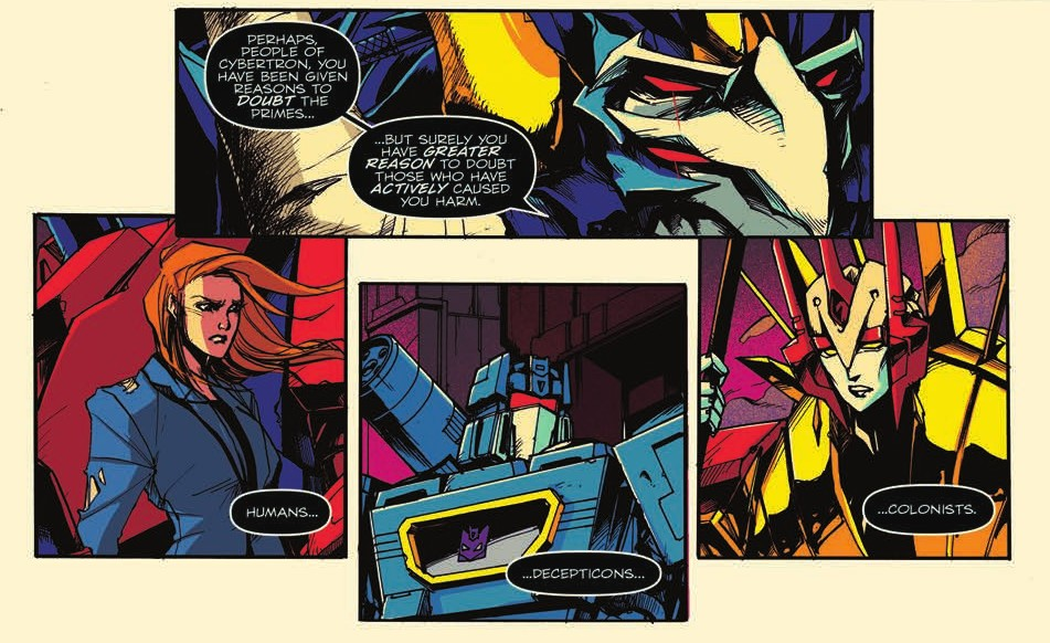 Transformers News: Double Review of IDW Transformers Optimus Prime #17 & #18