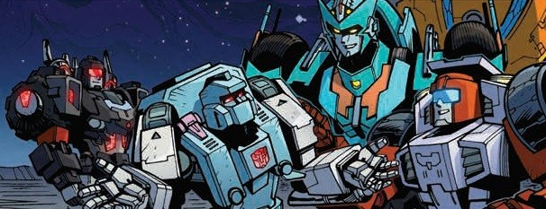 Transformers News: Review of IDW Transformers: Lost Light #17