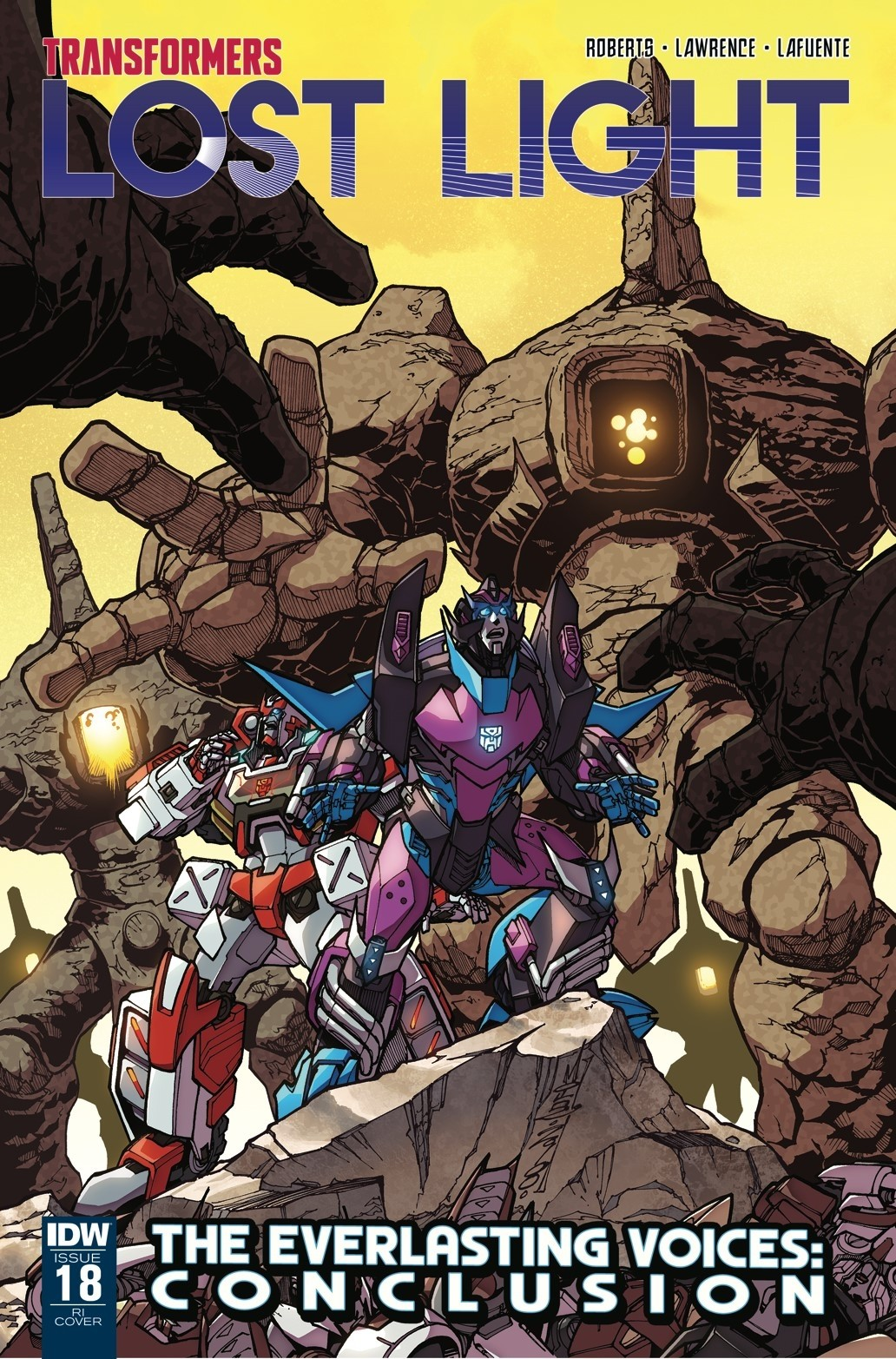 Transformers News: IDW Transformers: Lost Light RI Cover Revealed