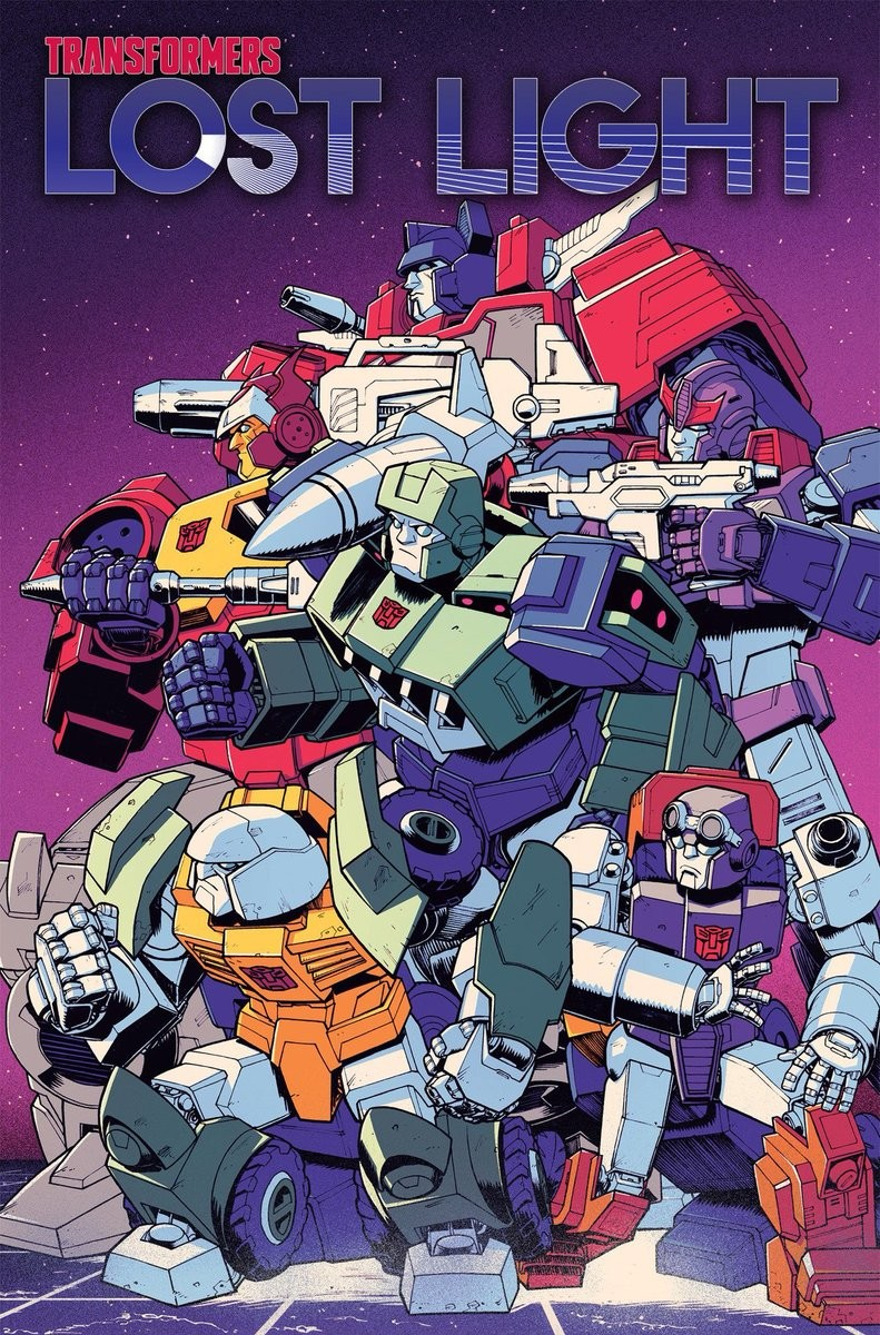 Transformers News: Listing for IDW Transformers: Lost Light Volume 4, Nick Roche/Josh Burcham Issue 20 Cover Revealed