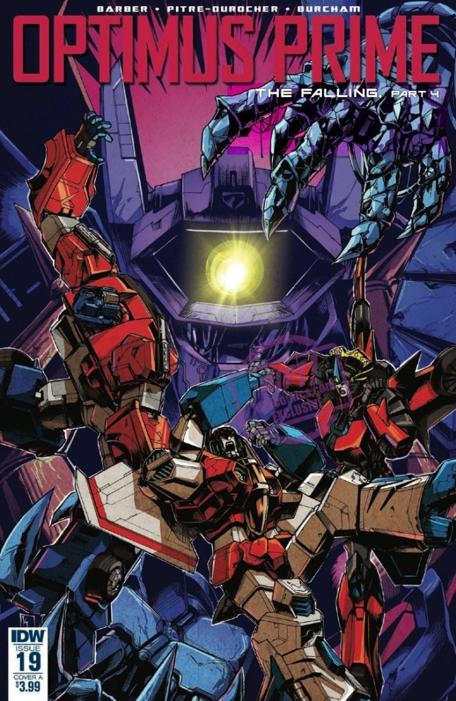 Transformers News: Full Preview for IDW Transformers Optimus Prime #19