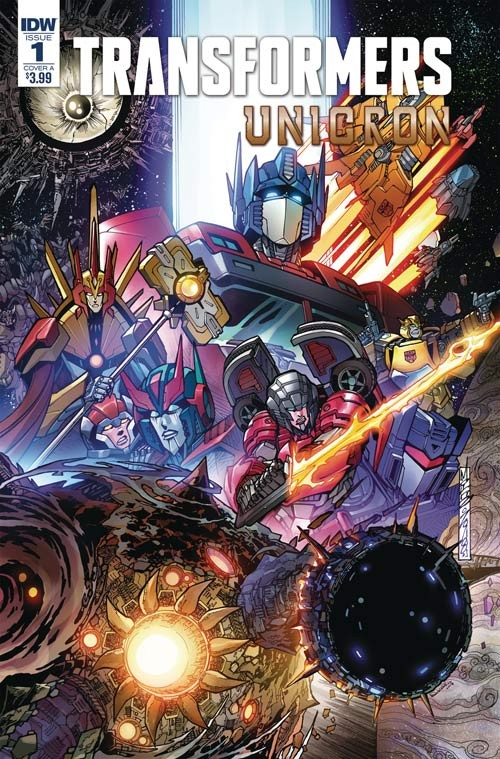 Transformers News: Interview with IDW Transformers Writer John Barber on Unicron