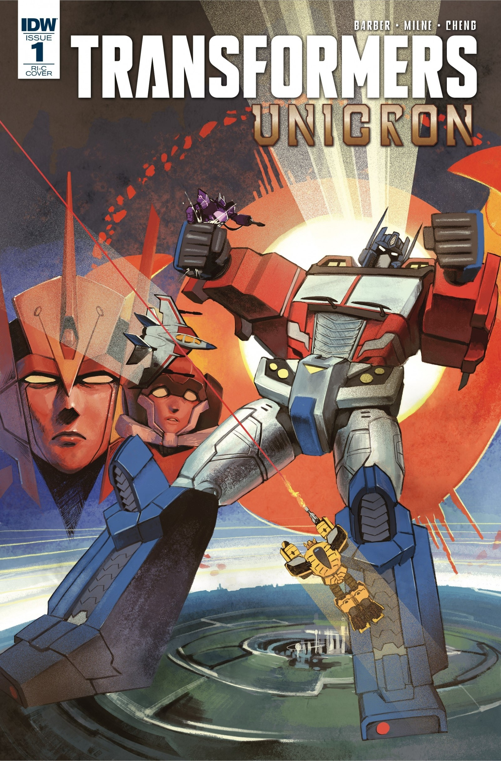 Transformers News: IDW Transformers Unicron Issue #1 Sara Pitre-Durocher Cover Revealed