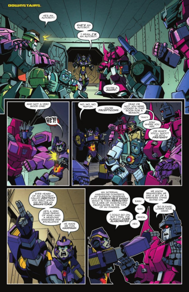 Transformers News: Full Preview for IDW Transformers: Lost Light #18