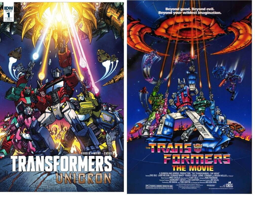 Transformers News: Exclusive Variant Cover for IDW Transformers: Unicron #1 by Milne and Perez
